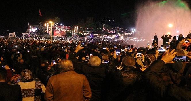 Antalya'da yeni yıl kutlamaları
