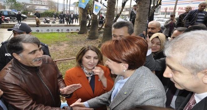 İYİ Parti Genel Başkanı Akşener Antalya'da