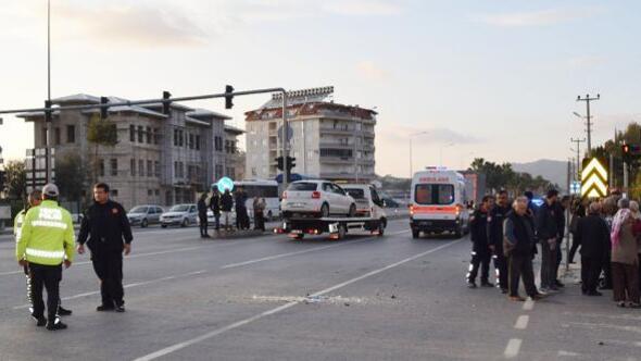 Gazipaşa'da kaza: 4 yaralı