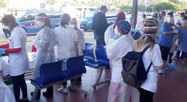 Alanya'ya gelen 2 mahkumun koronavirüs testi pozitif çıktı