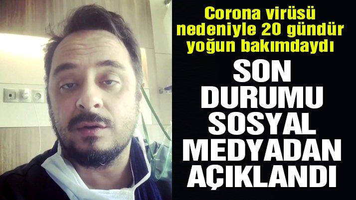 Corona virüsü ile mücadele eden Burak Akkul'dan müjdeli haber