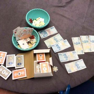 Jandarmanın suçüstü kumar baskını yaptığı villa mühürlendi