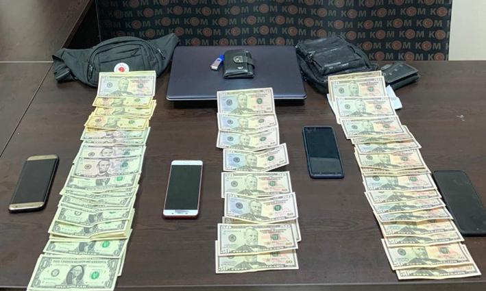 Manavgat'ta sahte Amerikan Doları ele geçirildi