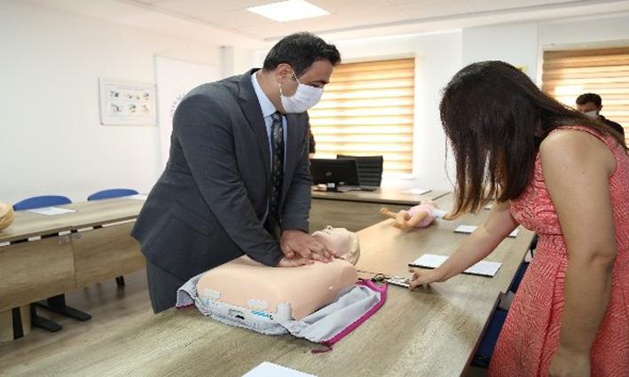 ALKÜ İlkyardım Eğitim Merkezi açıldı