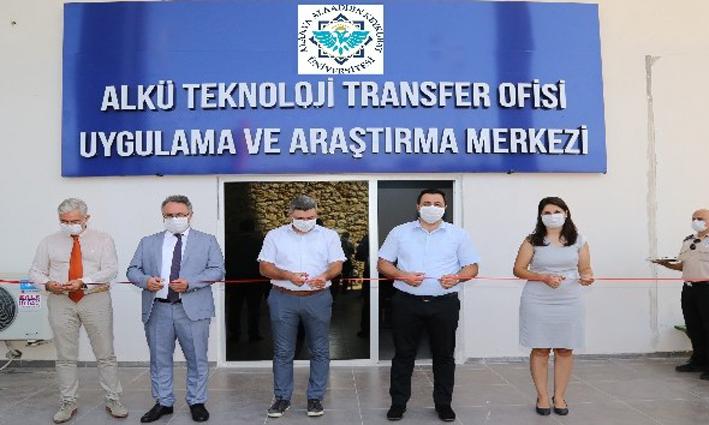 ALKÜ'nün, Teknoloji Transfer Ofisi açıldı