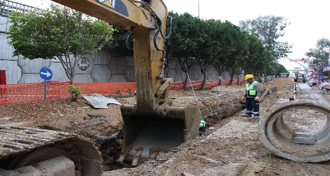 Kepez'e 45 milyonluk kanalizasyon yatırımı