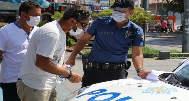 """(Özel) Polise """"Bizi mi seçtiniz"""" dedi, 900 TL'lik cezadan kurtulamadı"""