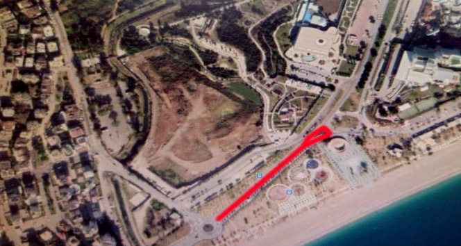 Olbia- Minicity kavşağı arası 2 gün araç trafiğine kapalı