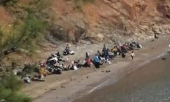 Antalya'da arıza yapan tur teknesindeki 190 düzensiz göçmen yakalandı