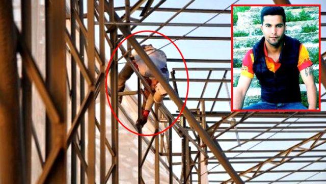 Yüksek gerilim hattına temas eden işçi, akıma kapılarak yaşamını yitirdi
