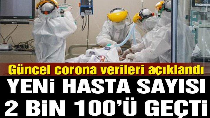 Son dakika… Corona virüsü verileri açıklandı! İşte 22 Ekim tablosu