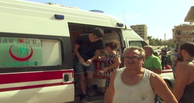 Yaralı gencin ailesi, korona virüs bulaşır diye çocuklarını ambulanstan indirdi