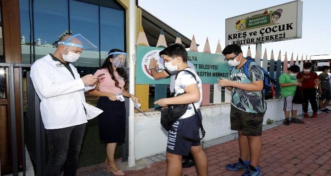 Manavgat belediyesi ETÜT merkezi eğitme başladı