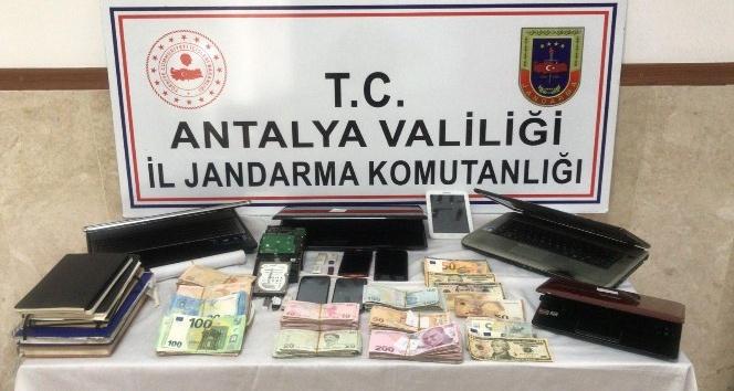 Antalya'da yasa dışı bahis operasyonu: 4 gözaltı