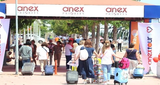 Antalya, yarın 3 milyon turist rakamına ulaşacak