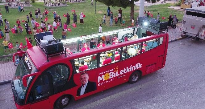 Büyükşehir Cumhuriyet Bayramı'nda mobil konserler ve mobil fener alayı düzenlenecek