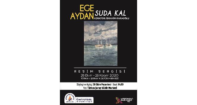 Ege Aydan'ın 33'üncü sergisi Muratpaşa'da açılıyor