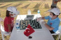 Alanya'da 29 Ekim coşkusu satranç turnuvasıyla başladı