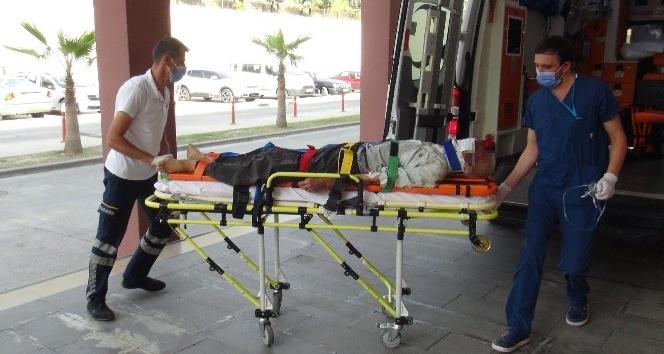 Evinde kanlar içinde bulunan yaşlı adam hastanede yaşamını yitirdi