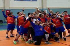 ALKÜ Spor Kulübü Hentbol Takımı 2. Lige yükseldi.