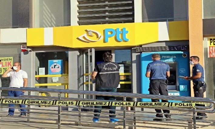 Bıçakla PTT soygununa 10 yıldan 15 yıla kadar hapis talebi