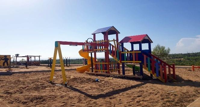 Uzunkale ve tilkilere modern park