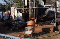 6 aylık Suriyeli bebek, ailesi serada çalışırken evde çıkan yangında hayatını kaybetti