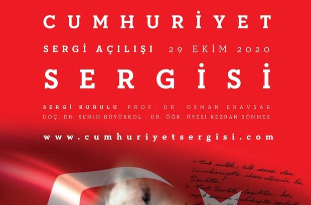 Akdeniz Üniversitesi Güzel Sanatlar Fakültesi'nden ilk sanat Cumhuriyet sergisi