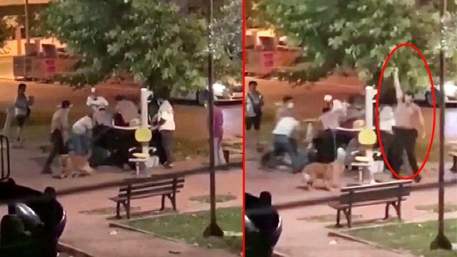 Akrabalar birbirine girdi, mahalle bekçileri kavgayı havaya açtığı ateşle ayırdı