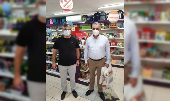 Başkan Esen'den esnafa alışverişli destek