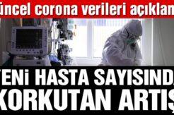 Son dakika… Bakan Koca, coronadan kaynaklı can kaybı ve yeni hasta sayısını açıkladı! İşte 26 Ekim tablosu…