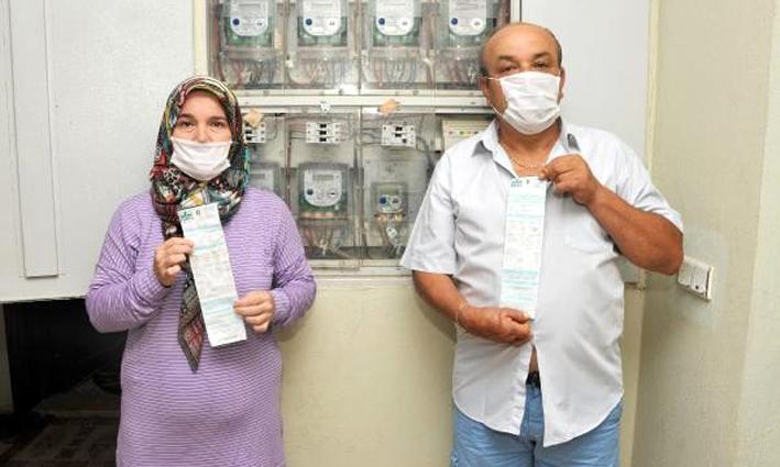 Antalya'da iki komşu, yanlışlıkla 3,5 yıl birbirlerinin faturasını ödedi