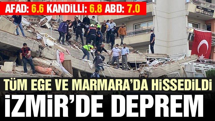 Son dakika… İzmir'de 6.6 büyüklüğünde deprem! İstanbul'da da hissedildi!