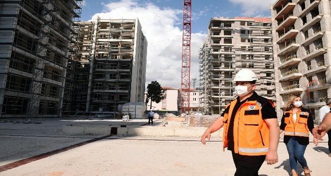 Gülveren Kentsel Dönüşüm Projesi, yüzde 80 tamamlandı