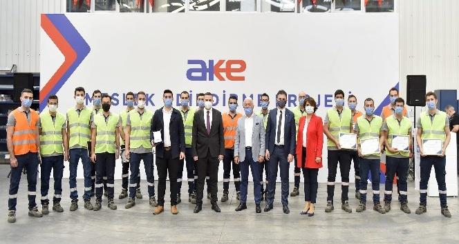 OSB'de bulunan AKE firması, 20 deneyimsiz mühendisi ekibine dahil edecek