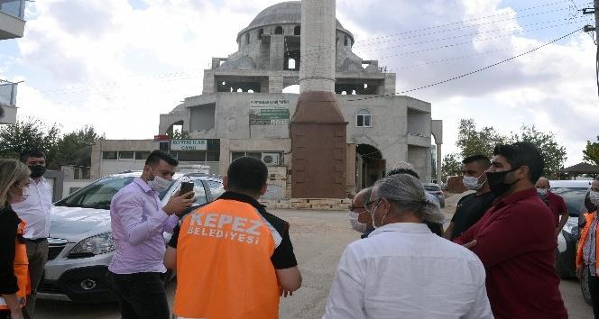 Konyalılar Camii'nin ince işlerinin yapımı başladı