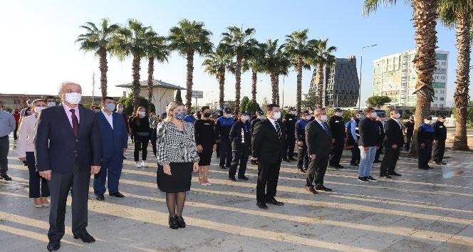 Kepez'de 10 Kasım Atatürk'ü anma töreni