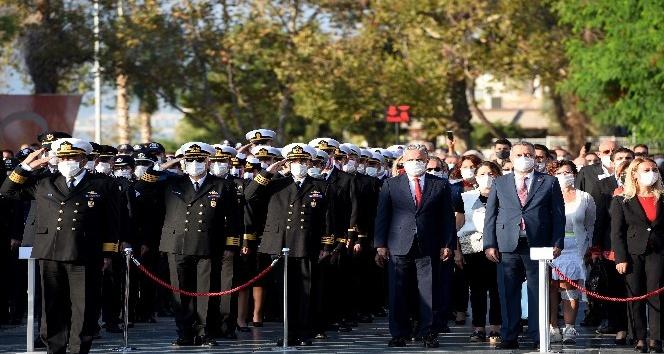Muratpaşa'da 10 Kasım Atatürk'ü Anma Töreni