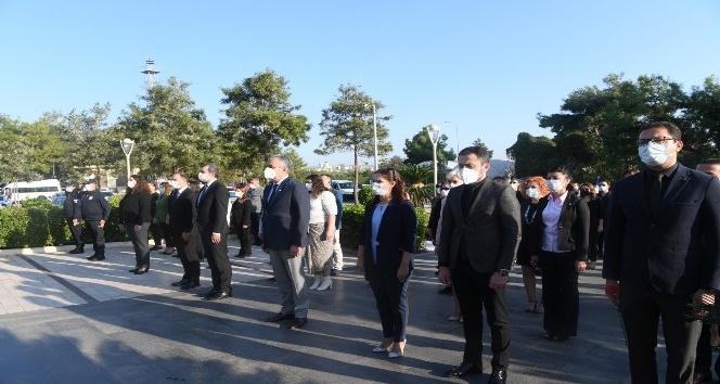 Konyaaltı'nda 10 Kasım Atatürk'ü Anma Töreni