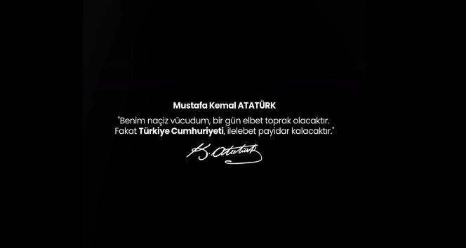 Antalyaspor'dan videolu '10 Kasım Atatürk'ü Anma Günü' paylaşımı