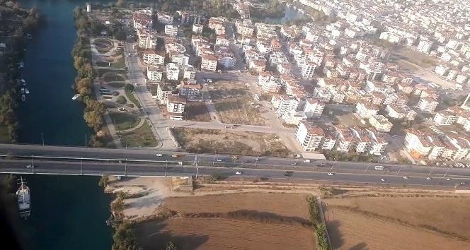Antalya karayollarında havadan ve karadan trafik denetimi