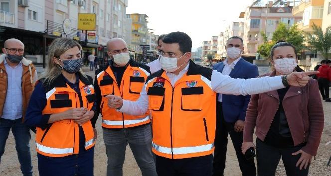 """Tütüncü: """"Kültür Kafeler Caddesi prestijli caddeye dönüştürülecek"""""""