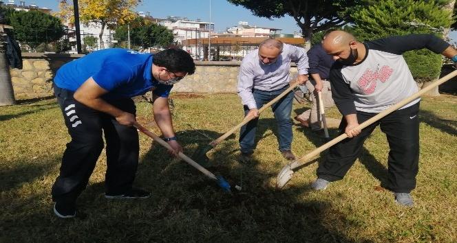Milli Ağaçlandırma Günü'ne sporcu desteği