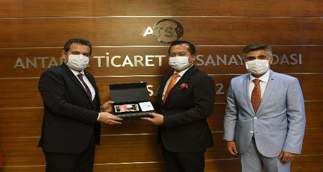 """ATSO Başkan Yardımcısı Atılgan: """"Endonezya ile dostluğumuzu ekonomiye yansıtmalıyız"""""""