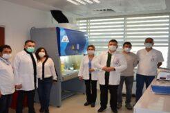 5. PCR laboratuvarı, Finike Devlet Hastanesinde hizmete başladı