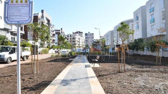 Konyaaltı Belediyesi'nden yeni bir park daha