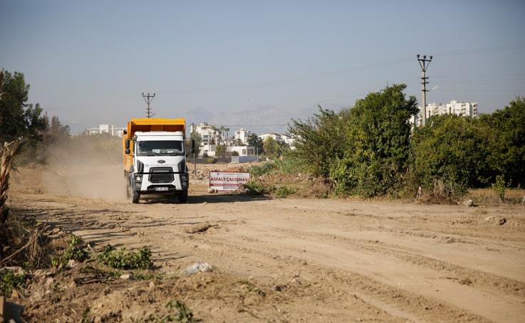 Kırcami'de yol açım çalışmaları devam ediyor