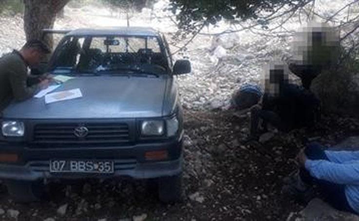 Kaçak avcılara 8 bin lira ceza uygulandı
