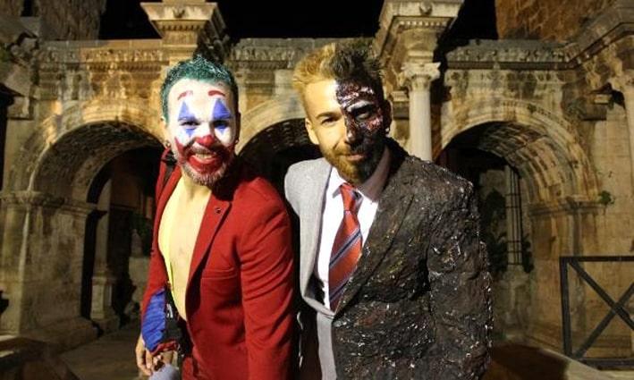 Antalya'da 'Cadılar Bayramı' kutlandı