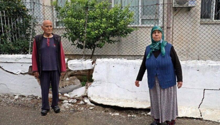 'Polisten kaçan bizim duvara vuruyor'